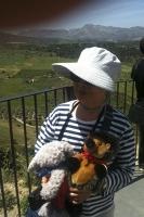 chinesische Touristin in Ronda