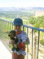 französiche Touristin in Ronda (2)
